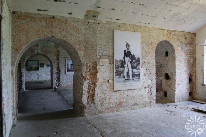 Внутри казармы горжи
