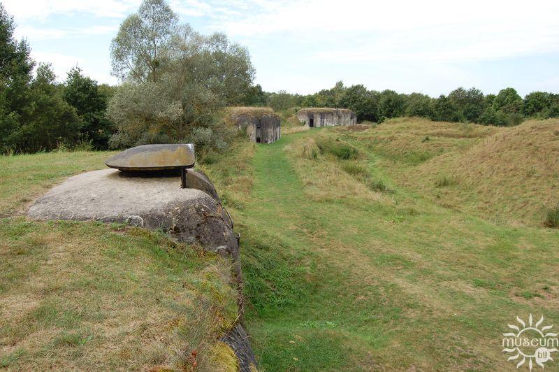 Казематированные траверсы форта